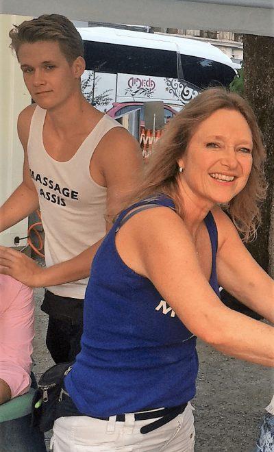 massage lors d'événements